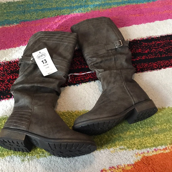 9dbfab347454 Stevies callme stone girls boots size 13 brand new